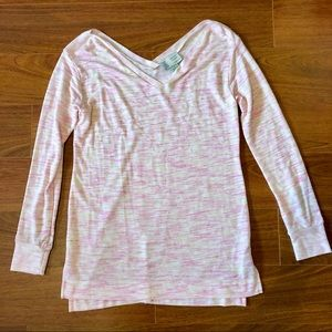 Saturday Sunday by Anthropologie Pink L/S Tee
